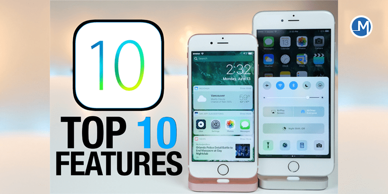 iOS top 10 feature