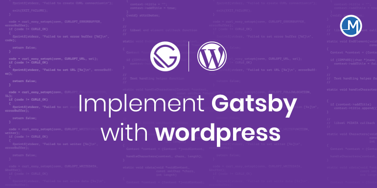 Gatsby with wordpress