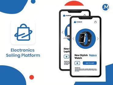 electronics selling app development